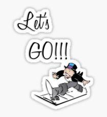 Let's Go!!! Sticker