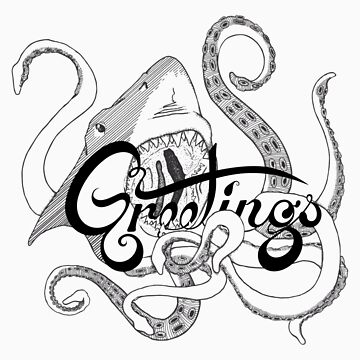 Friendly Sharktopus by lorak