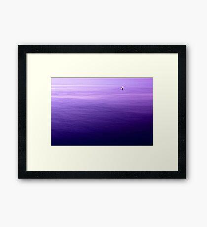 Morning Buoy Framed Print