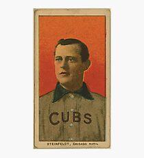 Benjamin K Edwards Collection Harry Steinfeldt Chicago Cubs baseball card portrait 001 Photographic Print