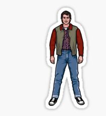 NOW IS THE FUTURE - Marty Mcfly 1955 Sticker