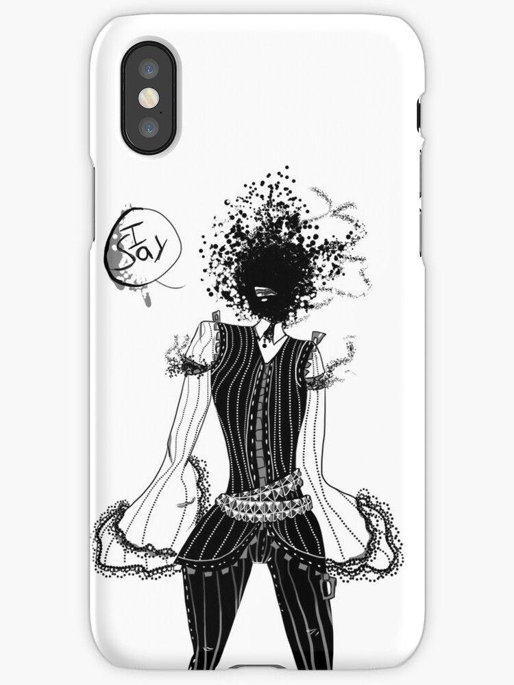 I Say! Iphone case by 02321