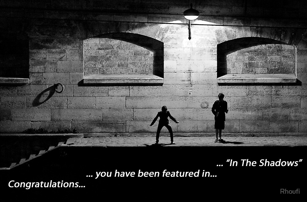 """""""In The Shadows"""" Feature Banner Challenge by Rhoufi"""