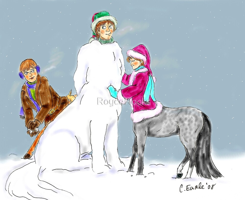 Raph and Family's Snow Day by RoyceRocks