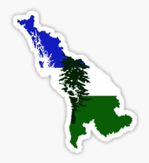 Cascadia Sticker
