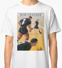 Kickoff  Rugby New Zealand Classic T-Shirt