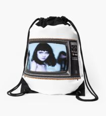 Grimes TV Drawstring Bag