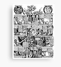 The Odd Couple Canvas Print