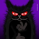IAGO THE MIDNIGHT CAT by matt40s