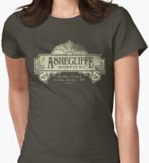 Shutter Island Ashecliffe Hospital Women's Fitted T-Shirt