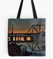 Sundown on Glass Tote Bag