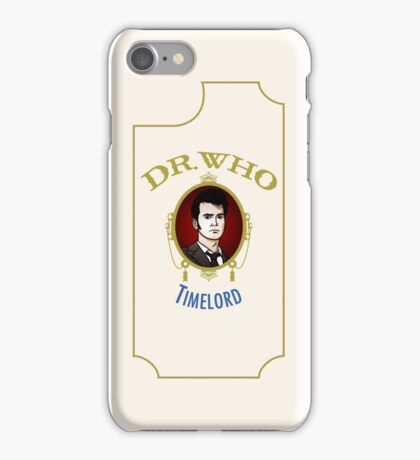 Dr. Who - Timelord - Tenth Doctor iPhone Case/Skin