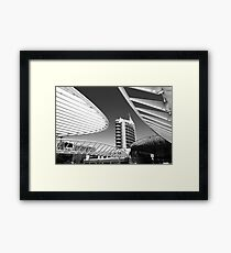 futuristic Framed Print