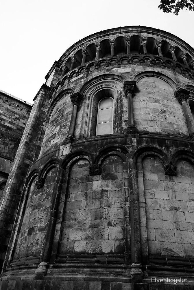 Historic Church by Elvenboyslut
