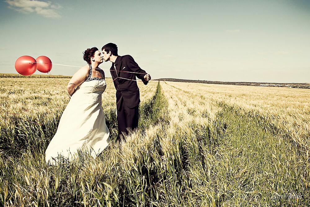 Barley Fields Wedding Photos, South Australia  : Renee & Cameron by JimFilmer