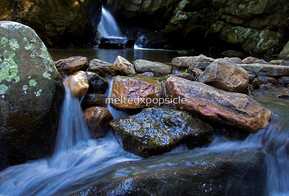 Stone Waterfall by Jessica Liatys