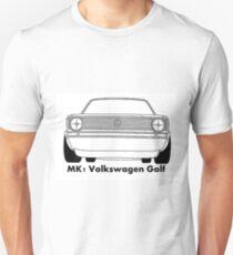 Mk1 Golf caricature Unisex T-Shirt