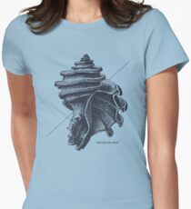 Sea View Womens Fitted T-Shirt