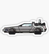 NOW IS THE FUTURE - Delorean 2015 Sticker