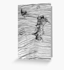 Kauri Wood Greeting Card