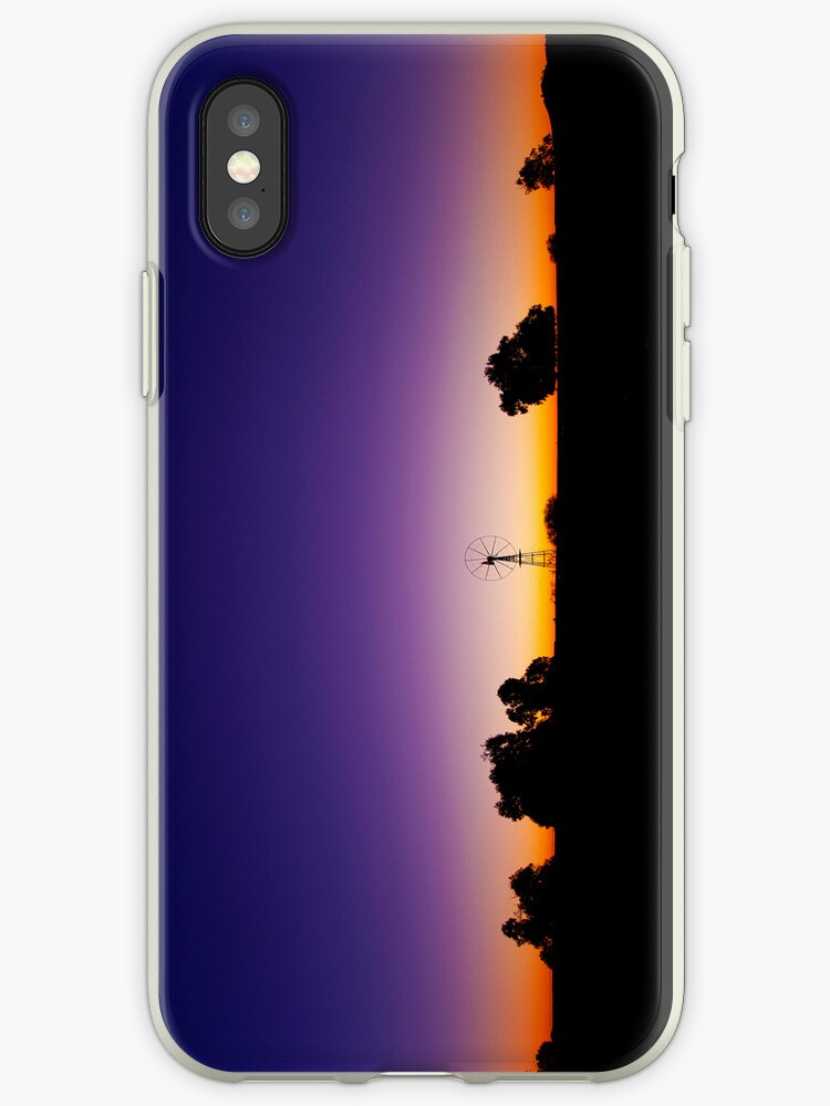 Outback Water Hole iPhone Case by Peter Doré