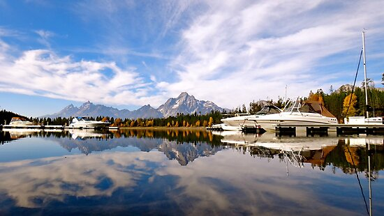 Colter Bay, Wyoming by Andrew Benton