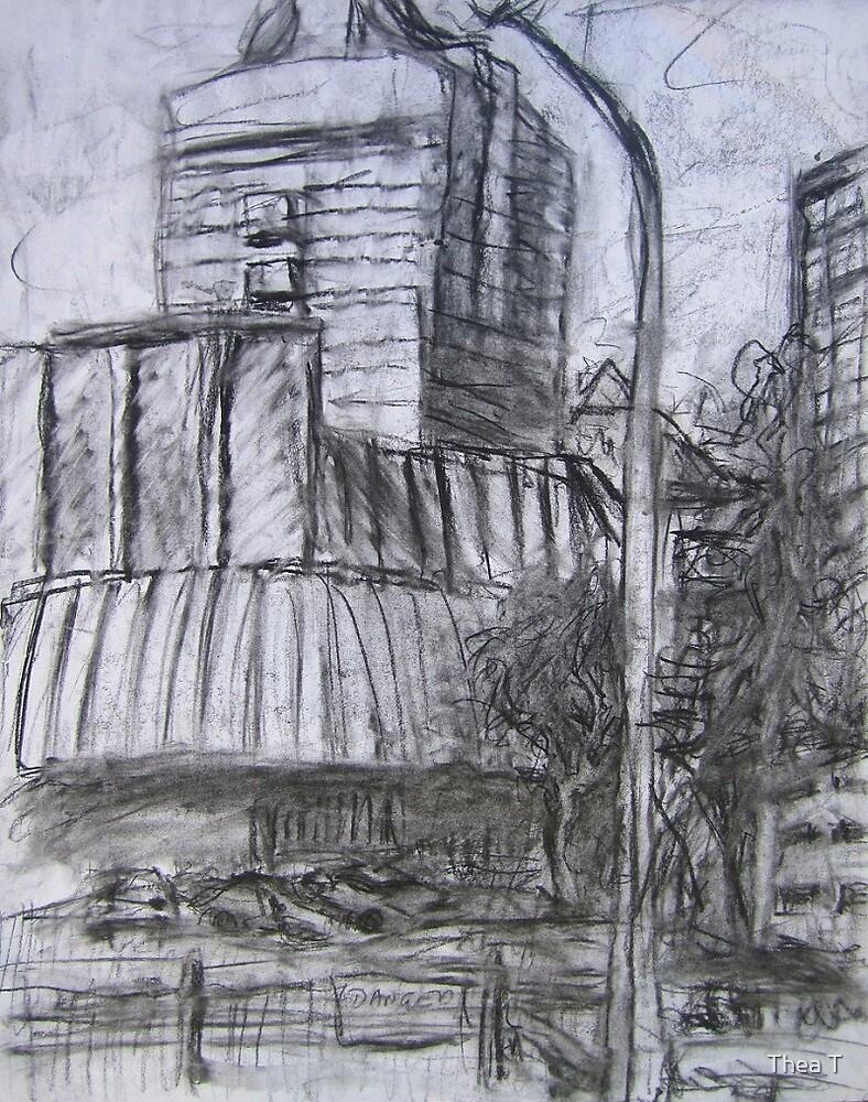 Northbridge (study) by Thea T