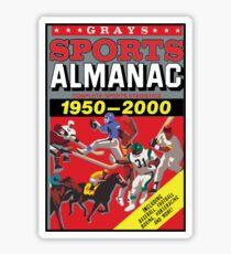 NOW IS THE FUTURE - Sports Almanac 2015 Sticker