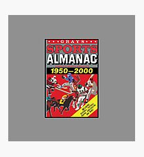 NOW IS THE FUTURE - Sports Almanac 2015 Photographic Print