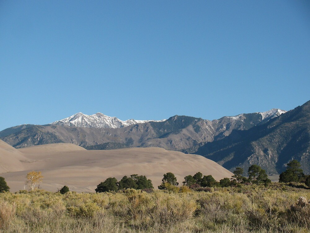 The great sand dunes by lehnejm1