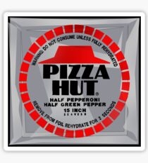 NOW IS THE FUTURE - Pizza 2015 Sticker