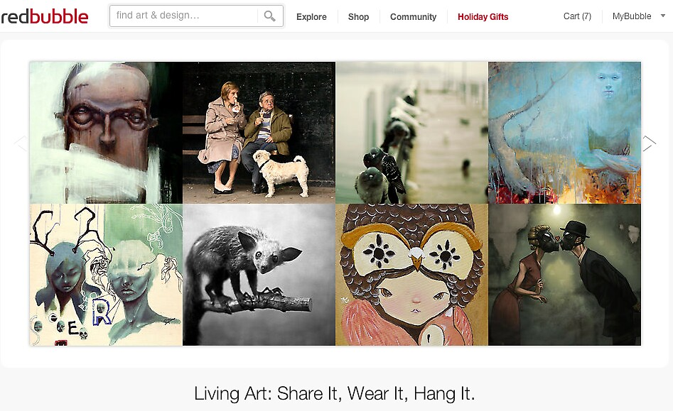 15 December 2011 by The RedBubble Homepage