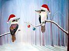 The Christmas Party - Kookaburras by Linda Callaghan