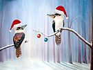 The Christmas Party - Kookaburras by Linda Callaghan