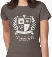 Dead Poet's Society - Welton Academy Women's Fitted T-Shirt