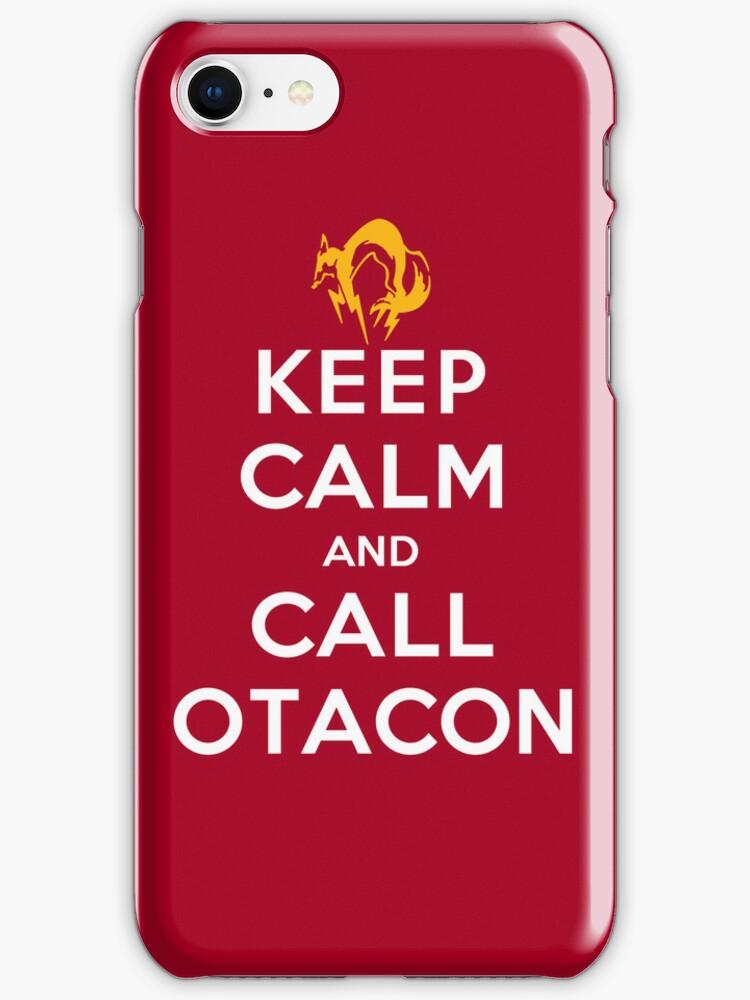 Keep Calm and Call Otacon by Koukiburra