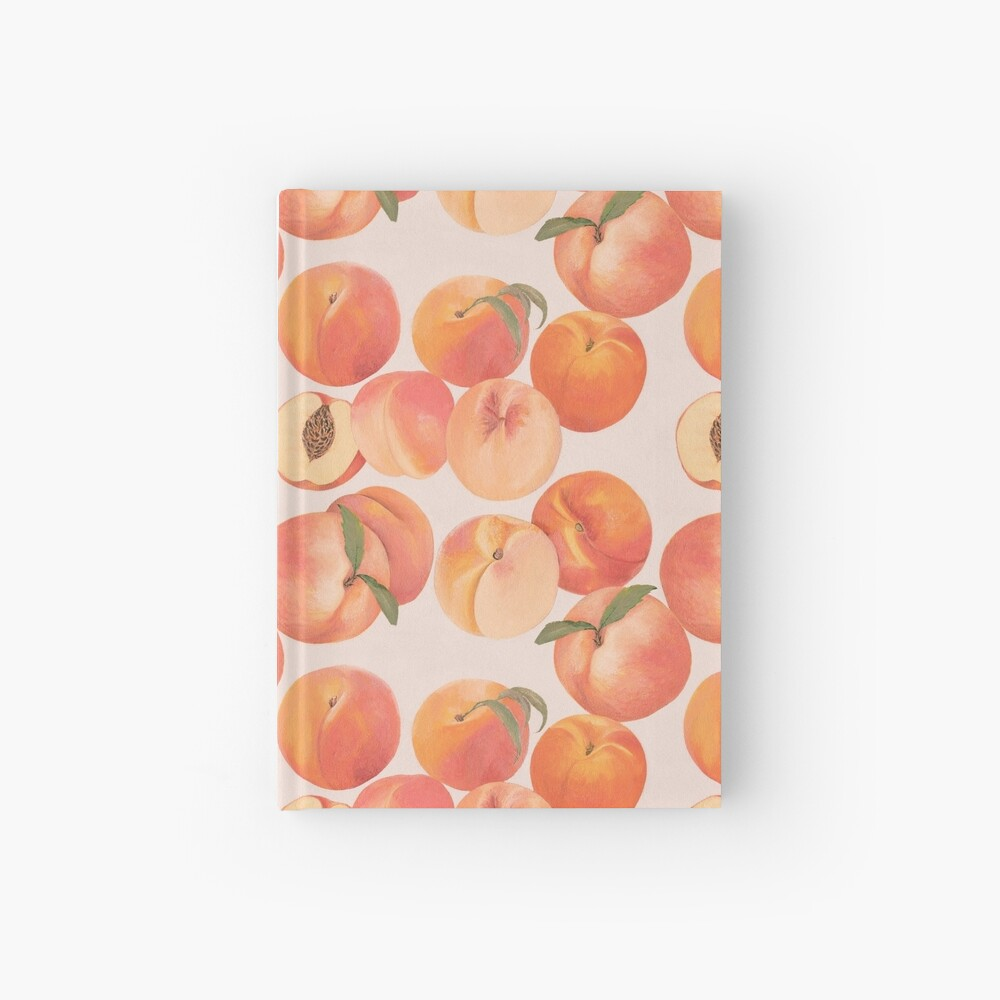 Peaches Hardcover Journal