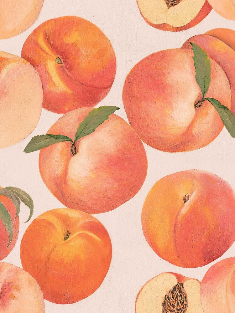 Peaches by penwork