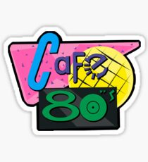 NOW IS THE FUTURE - Cafe 80's 2015 Sticker