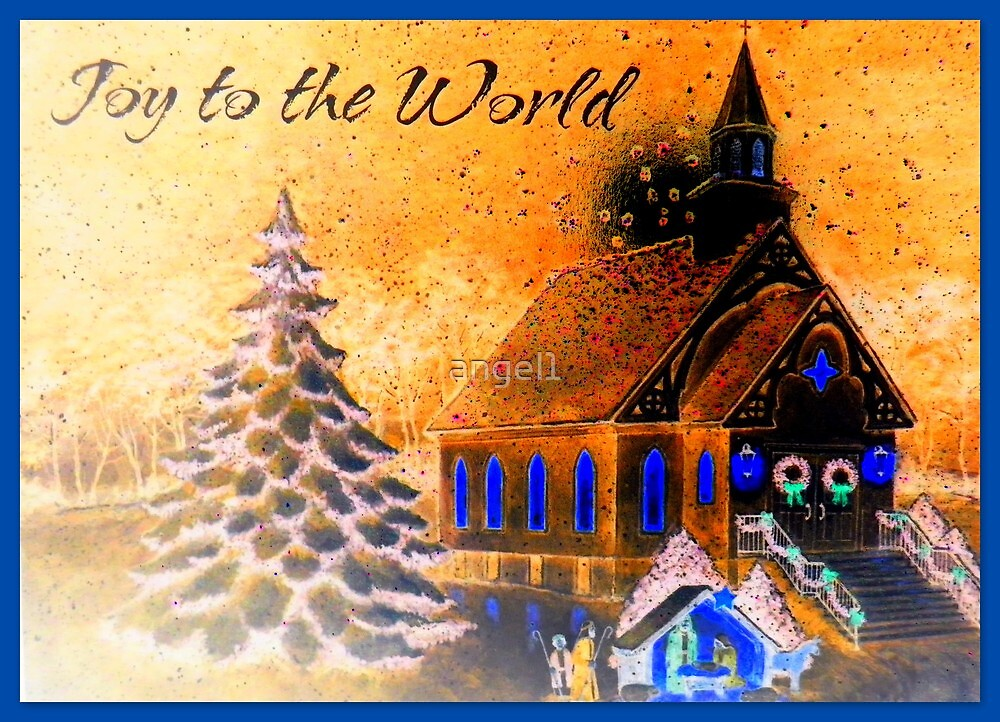 Joy to the world! by ©The Creative  Minds