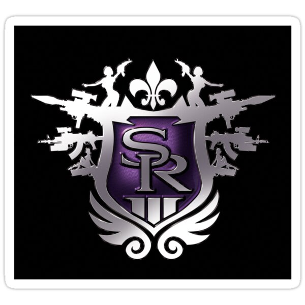 Quot Saints Row The Third Logo Quot Stickers By Kyle Whitehouse