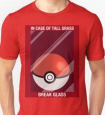 In Case of Tall Grass, Break Glass Unisex T-Shirt