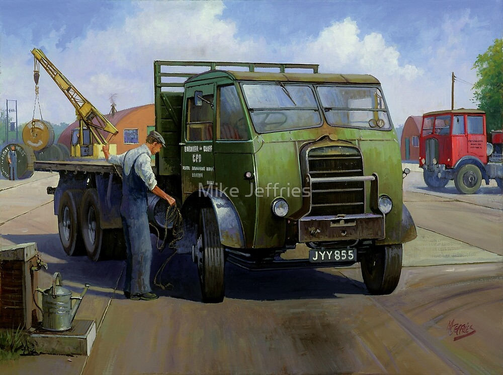 Post Office Engineering Foden. by Mike Jeffries