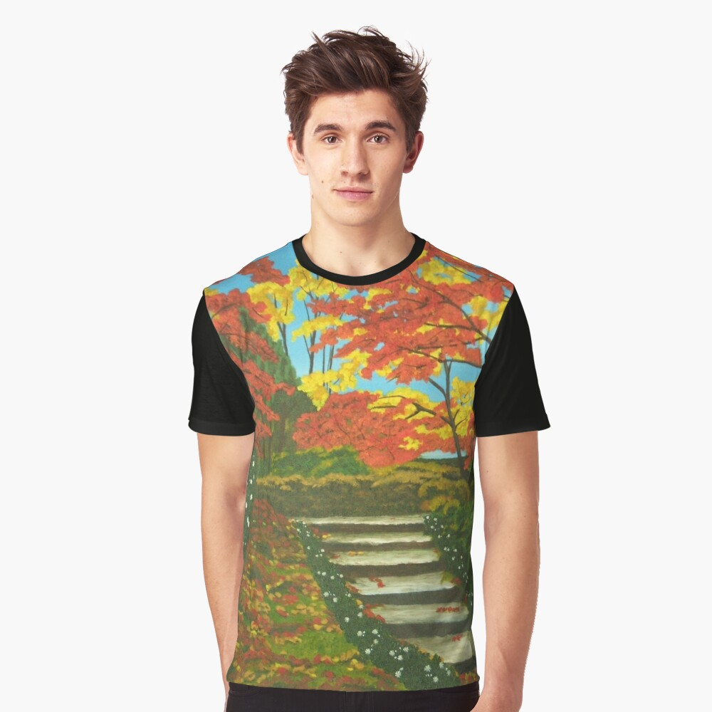 Mystery Walk Graphic T-Shirt Front