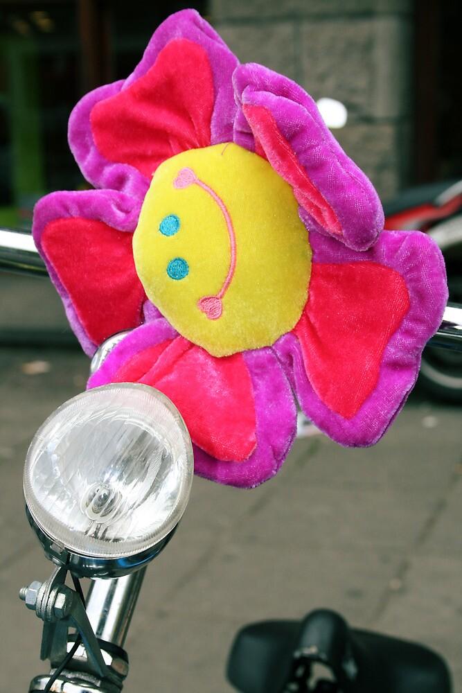 Amsterdam Bike Flower by CraMation