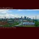 View of Cleveland from the old Neff Electric Building by Bob Perkoski