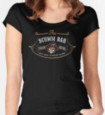 The Scumm Bar Women's Fitted Scoop T-Shirt