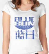 Blue Sun Corporation Logo (Firefly/Serenity, Large) Women's Fitted Scoop T-Shirt