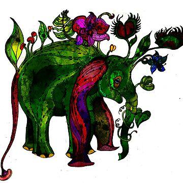 elephant by hollywils