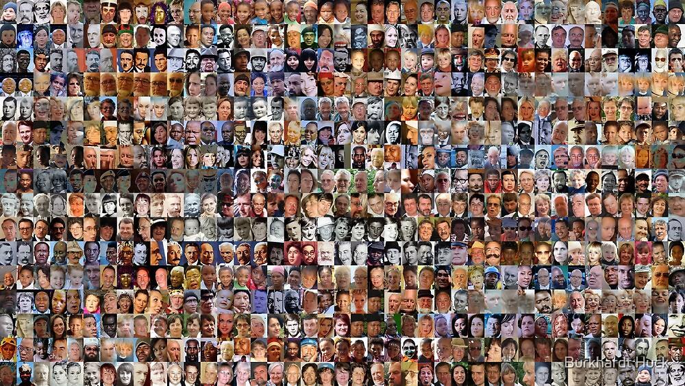 Face Recognition 3 by Burkhardt Huck